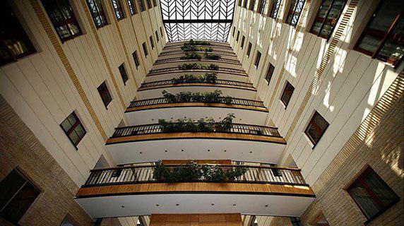 معماری ساختمان مسکونی بوستان نهم – برج باغی در پاسداران