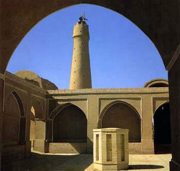 مسجد جامع فهرج،اثر کم نظیر دوران انتقال