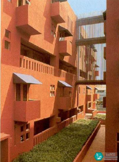 طراحی معماری مجتمع مسکونی Pasaje Santa Fe