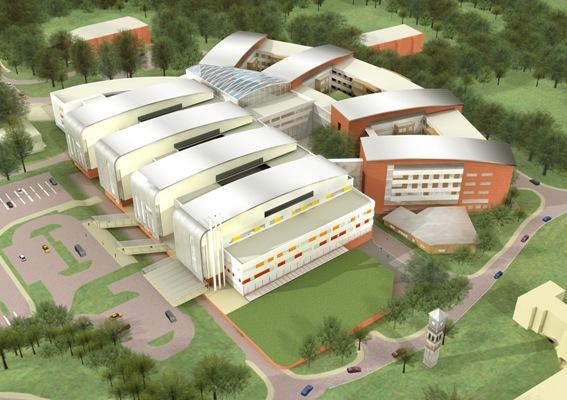 مطالعات اولیه طراحی بیمارستان